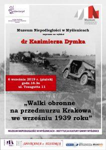 walki obronne na przedmurzu Krakowa
