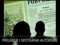 Prelekcje i spotkania autorskie